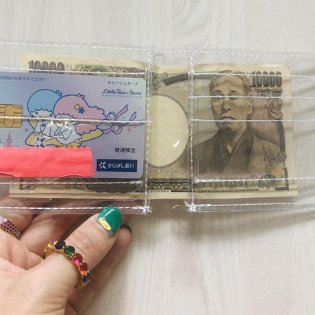 clear wallet