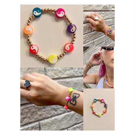 Yin yang bracelet