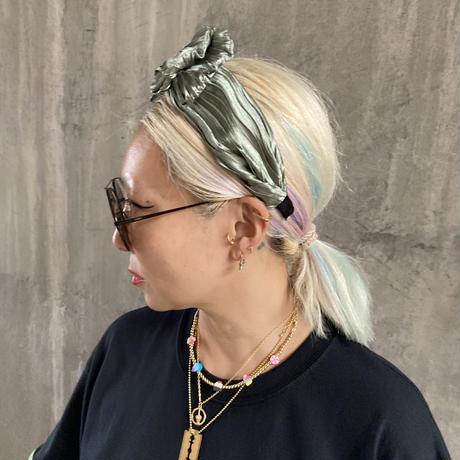 Shrink ribbon headbands