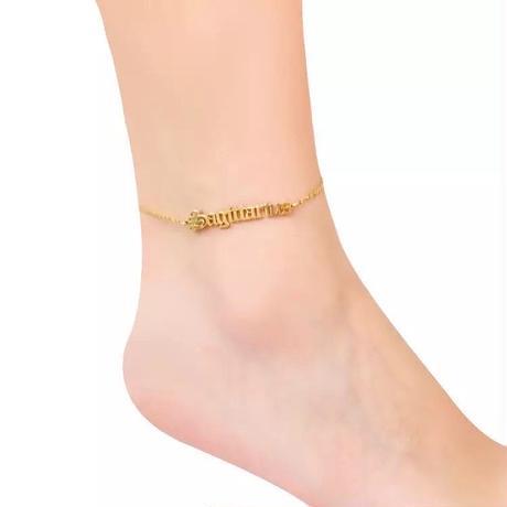sign anklet