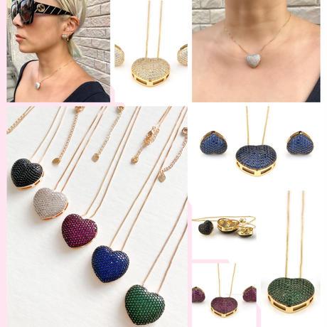 Heart bijoux necklace