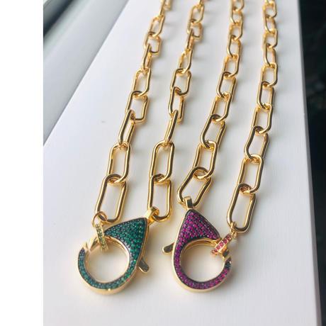 clasp necklace