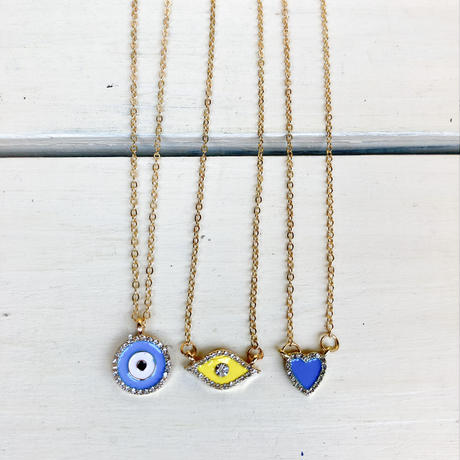 Set of 3 fortune necklaces