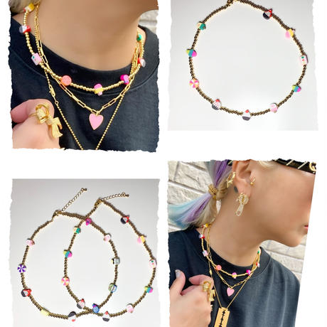 Mini gold sweets necklace