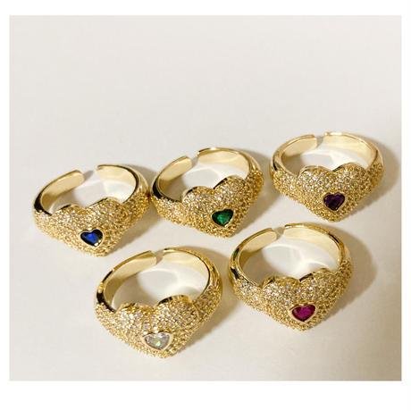 Cutie heart ring