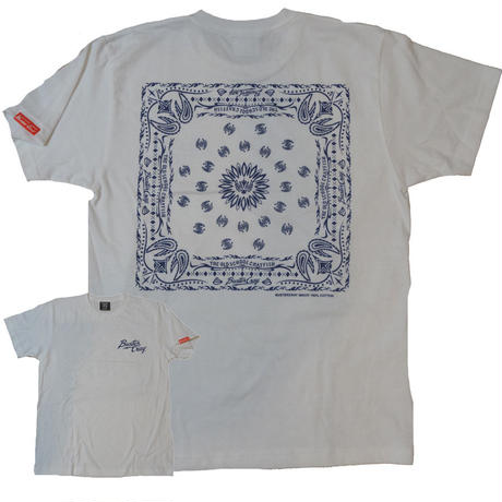 BANDANA T-SHIRT(WHITE)