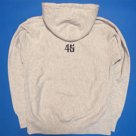 OG LOGO HOODED (ASH GRAY)