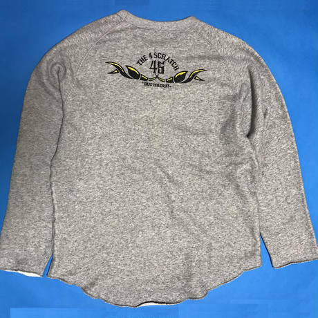 2CRAYFISH CutOff CREWNECK SWEAT