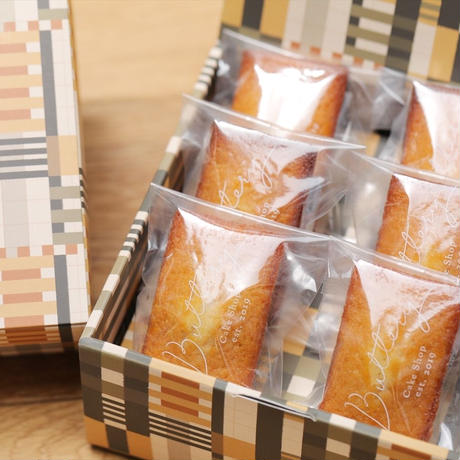 Butteryフィナンシェ(6個入りギフトボックス)