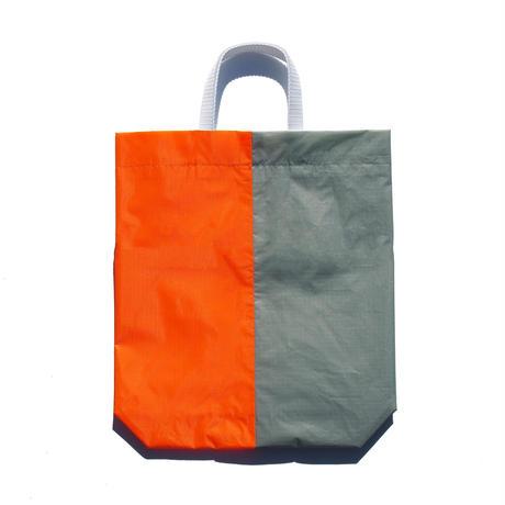 KM bag I/S Light Gray /  Fluo Orange