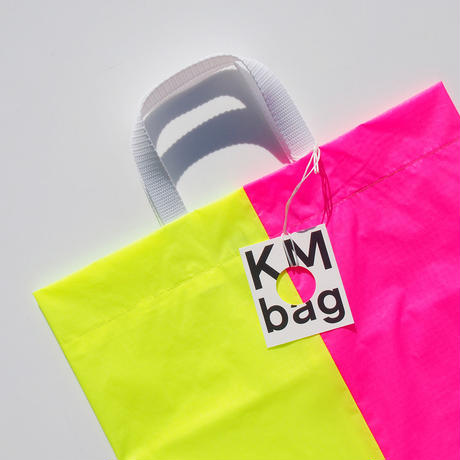 KM bag I/S Fluo Yellow/Fluo Pink