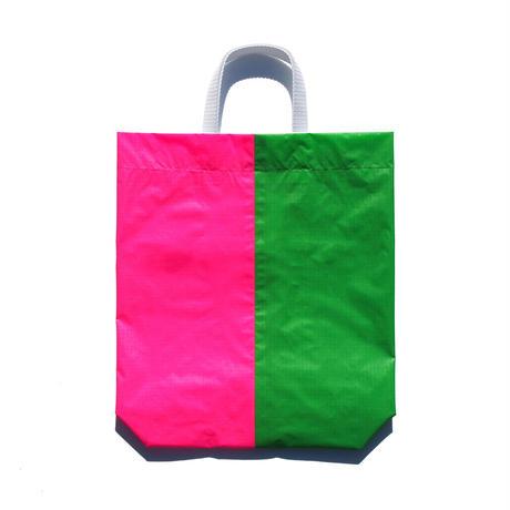 KM bag I/S Fluo Green / Fluo Pink