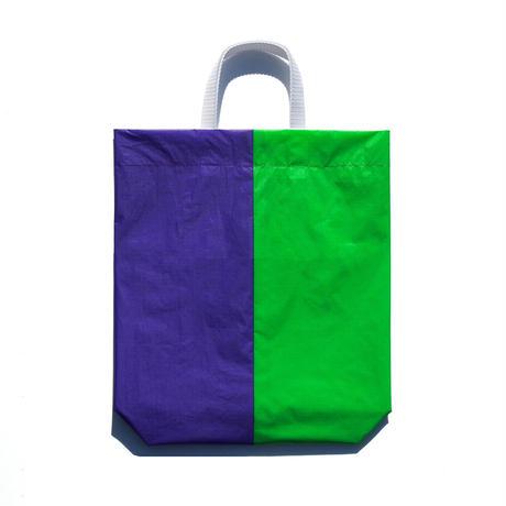 KM bag I/S Fluo Green / Violet