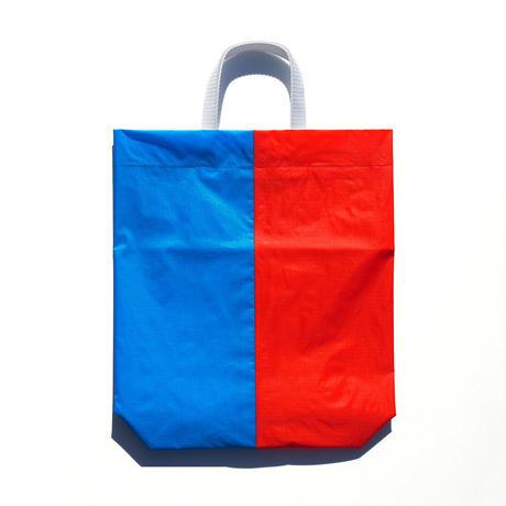 KM bag I/S Sky Blue / Warm Red-Orange