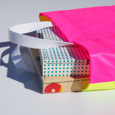 KM bag O/S Fluo Yellow /  Fluo Pink