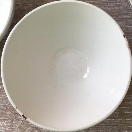 サルグミンヌ窯薔薇モチーフカフェオレボウル