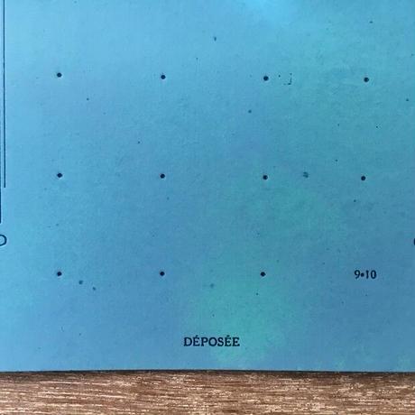 大きめボタン台紙(ブルー)