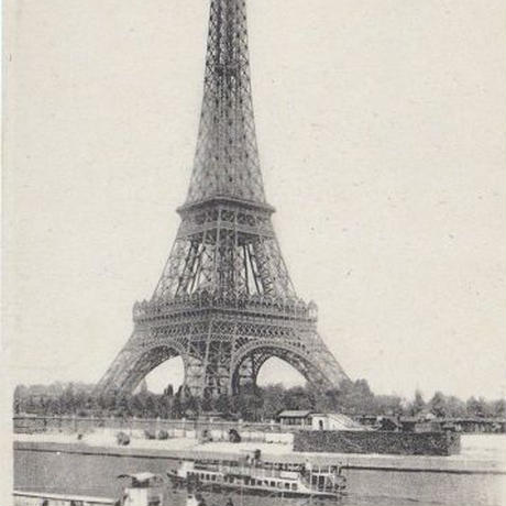 エッフェル塔のポストカード No.777
