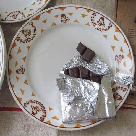 リュネヴィルの食いしん坊君モチーフ平皿(中)