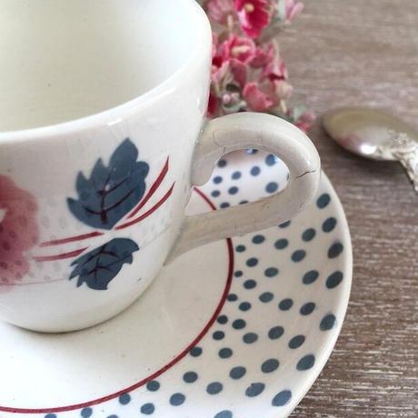サルグミンヌ窯ルネシリーズのコーヒーカップ&ソーサー(B)