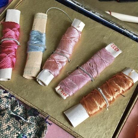 お子様用の刺繍キット