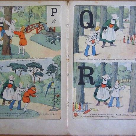 ベカシーヌのアルファベットの雑誌