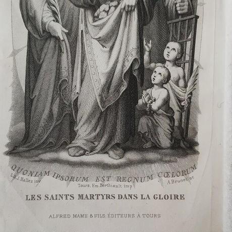 聖人達のグラビュール