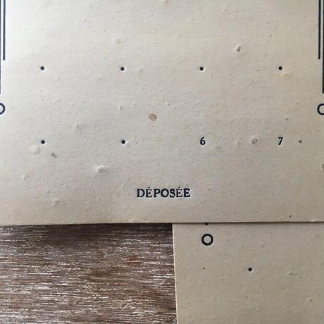 ボタン台紙(ナチュラルカラー)