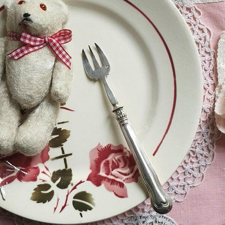 シルバー牡蠣用フォーク