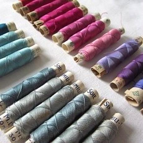 22本のシルク糸巻きセット