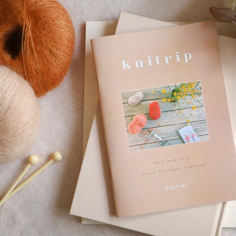 FIRST ZINE「Knitrip」BY MAYUMI