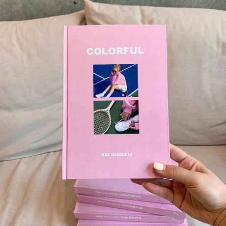 【ポーチ付】書籍 COLORFUL (著者: 岩渕加恵)