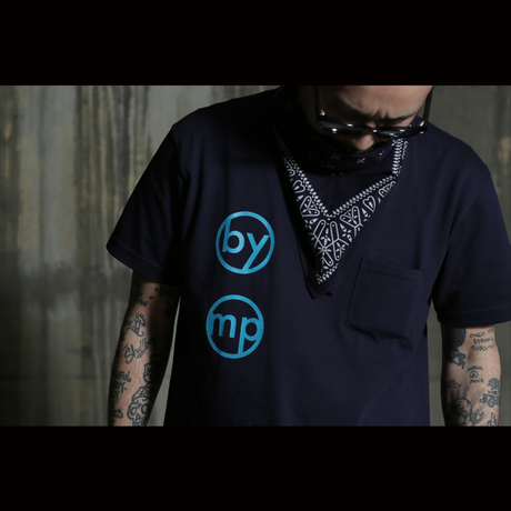 45 MILLIMETER Photo Logo Pocket Tee