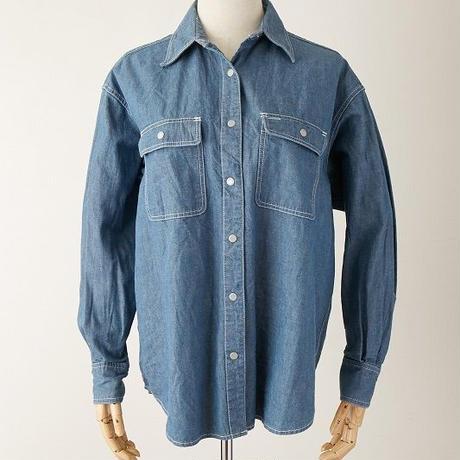 デニムオーバーサイズシャツ