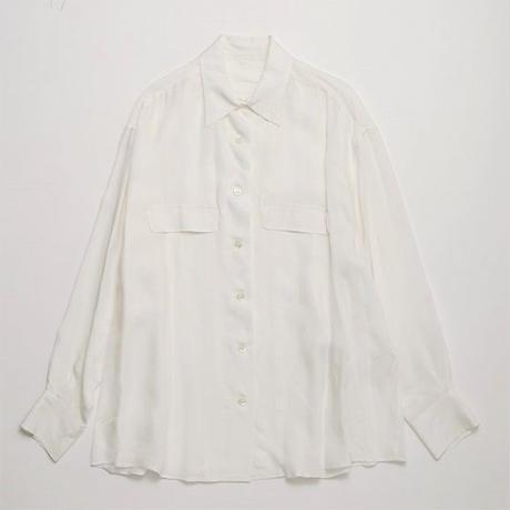 キュプラサテンシャツ