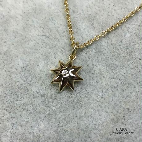 K18・ダイヤモンドペンダント(トップのみ)