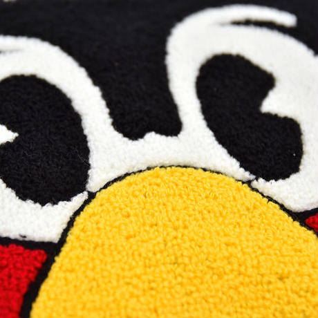 セール【20%OFF】つば九郎 サガラ刺繍 マチ付きポーチ (TBA008)
