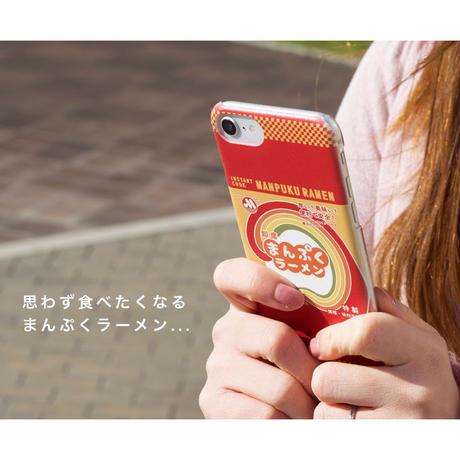 まんぷく スマートフォンケースハードタイプ まんぷくラーメンパッケージ