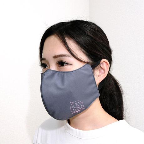 ゆるキャン△ ファッションマスク ワンポイントVer.リン・なでしこ