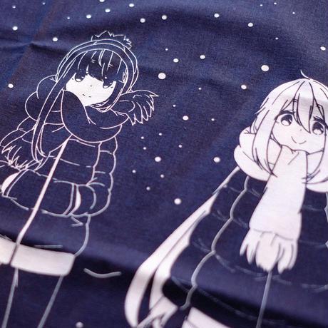 ゆるキャン△ 手ぬぐい 星空Ver. 【日本製】(AKRYUR069)
