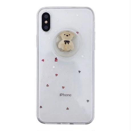 クマ kumamon  スノードーム  プーさん  iphoneケース くま