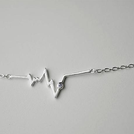 シルバー925 銀 スマート ライト/電波設計 シルバーネックレス  首飾り  ファションコーディネート・プレゼント に