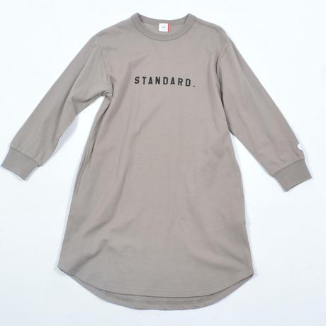 FOV  STANDARD.  L/S ワンピース(アッシュグレー)