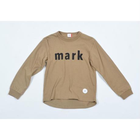 FOV mark L/S Tシャツ(キャメル)