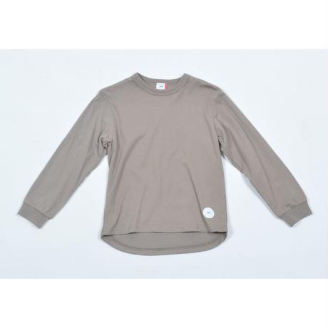 FOV PLAIN L/S Tシャツ(アッシュグレー)