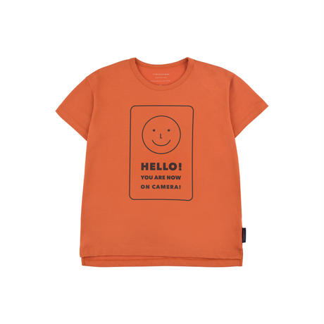 "tinycottons ""HELLO"" SS TEE"