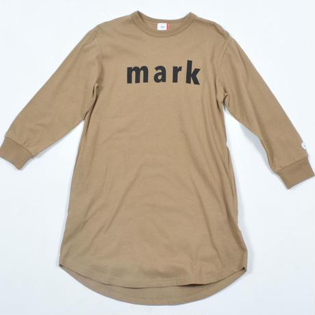 FOV   mark  L/S ワンピース(キャメル)