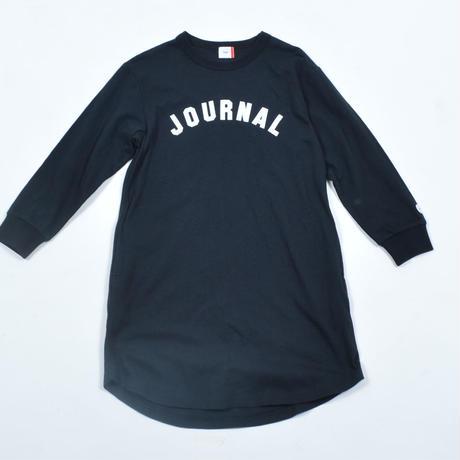 FOV  JOURNAL  L/S ワンピース(ブラック)