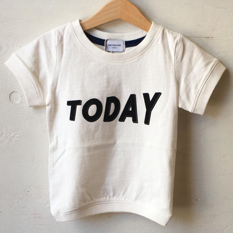 ARCH&LINE SLUB TODAY TEE(white)