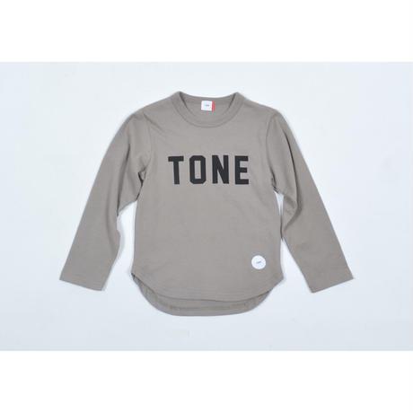 FOV TONE L/S Tシャツ(アッシュグレー)